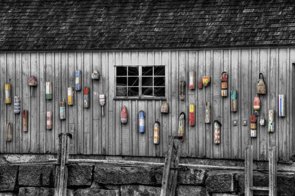 Wall Art - Photograph - Motif No 1 - Fish Shack by Joann Vitali