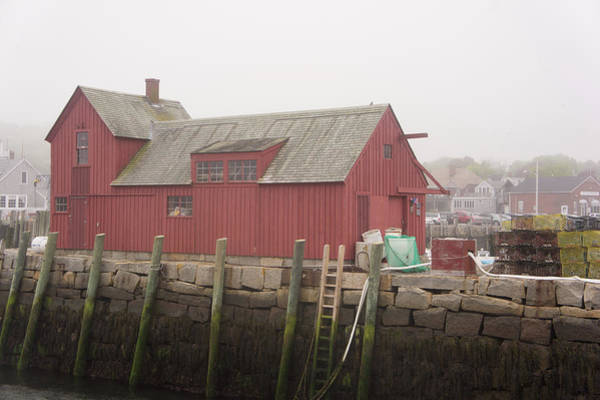 Wall Art - Photograph - Motif Number 1 On A Foggy Day by Adam Gladstone