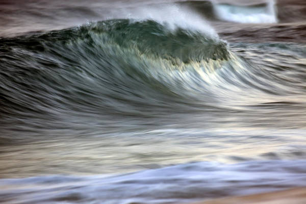 Wall Art - Photograph - Motion Blur Of Breaking Wave  Hawaii by Vince Cavataio