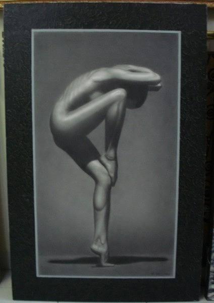 Ir Painting - Motion by IR Hary