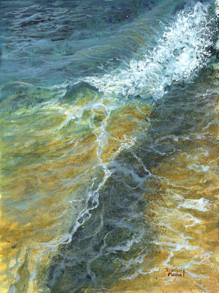 Painting - Motion Of The Ocean by Darice Machel McGuire