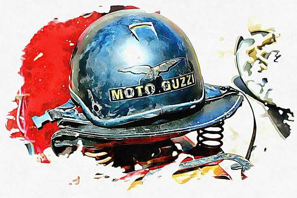 Photograph - Moto Guzzi by Dorothy Berry-Lound