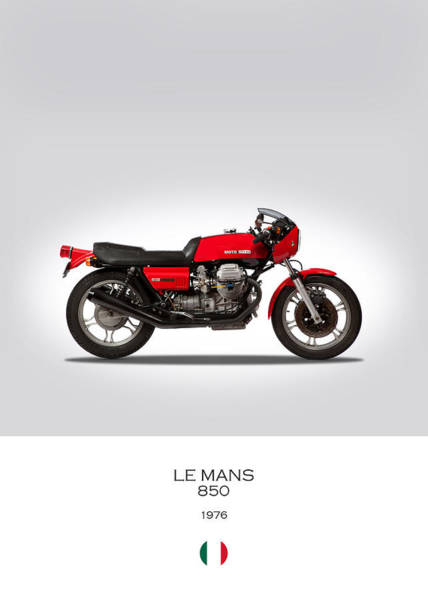 Le Photograph - Moto Guzzi Le Mans by Mark Rogan