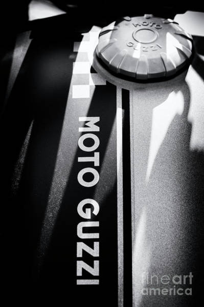 Photograph - Moto Guzzi by Tim Gainey