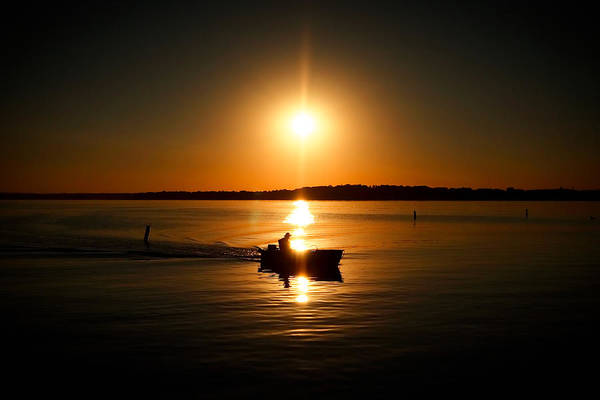 Photograph - Motor Boat Ride by Todd Klassy