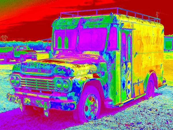 Digital Art - Motor City Pop #14 by Robert Grubbs