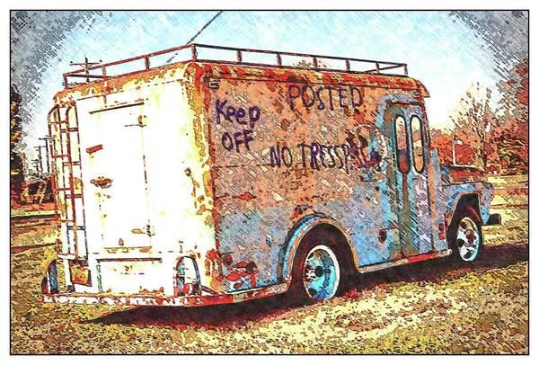 Digital Art - Motor City Pop #19 by Robert Grubbs