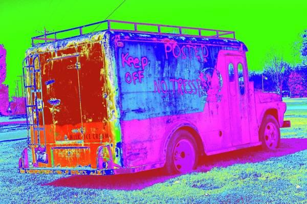 Digital Art - Motor City Pop #20 by Robert Grubbs