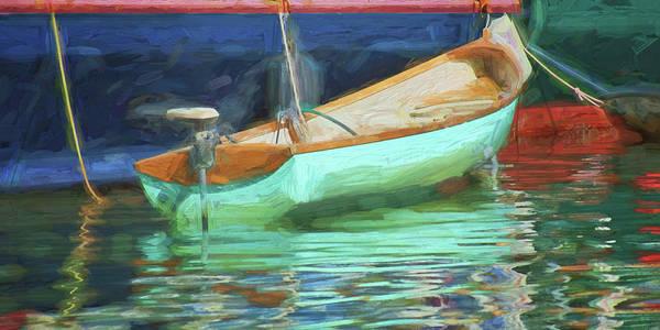 Powerboat Photograph - Motorboat - Reflection by Nikolyn McDonald