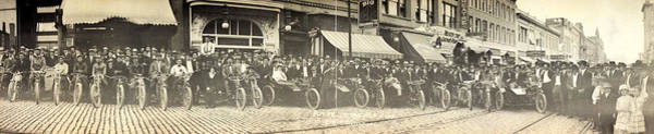 Photograph - Motorcycle Club, C1914 by Granger