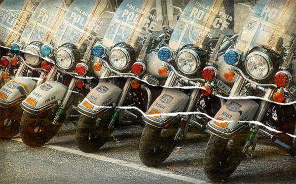 Wall Art - Photograph - Motorcycle Tear by Alice Gipson