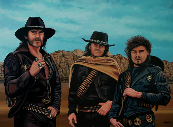Painting - Motorhead Painting by Paul Meijering