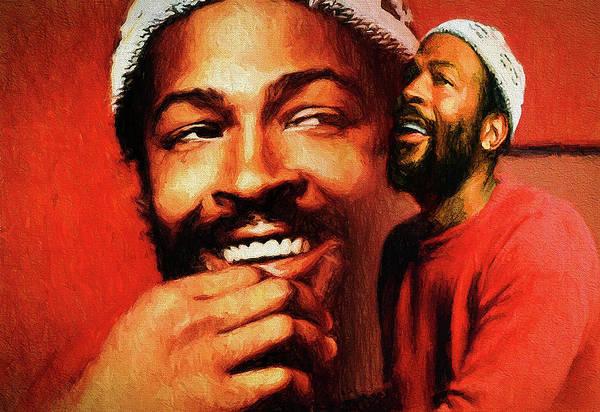 Justice Painting - Motown Genius by John Farr