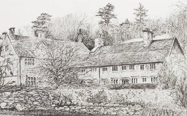 Mottistone Hall  Isle Of Wight Art Print