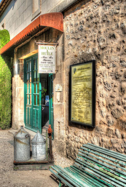 Wall Art - Photograph - Moulin A Huile Mas Des Barres Provence France by Tom Prendergast
