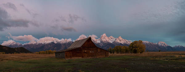 Photograph - Moulton Barn Panorama by Gary Lengyel