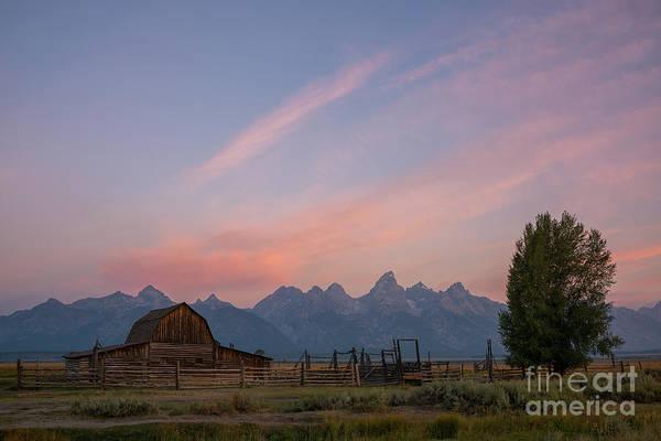 Wall Art - Photograph - Moulton Barn Sunrise by Michael Ver Sprill