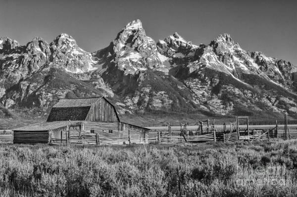 Bronstein Photograph - Moulton Cabin - Grand Tetons II by Sandra Bronstein