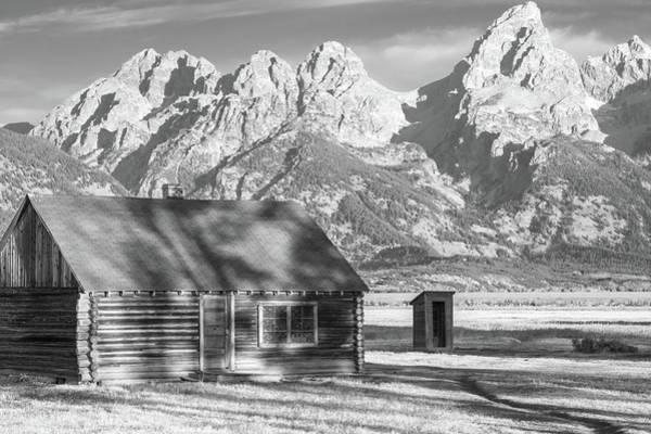 Photograph - Moulton Homestead - Bunkhouse by Colleen Coccia