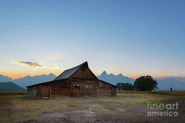 Wall Art - Photograph - Moulton Ranch Sunset At Mormon Row  by Michael Ver Sprill