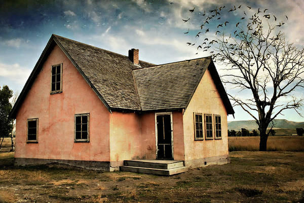 Historic House Digital Art - Moulton's House by Lana Trussell