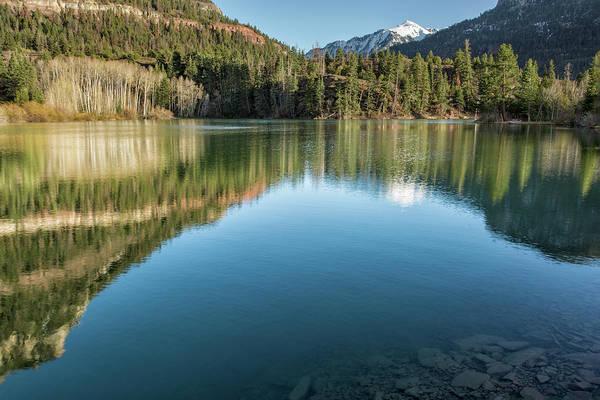 Photograph - Mount Abram Lakeside View by Denise Bush