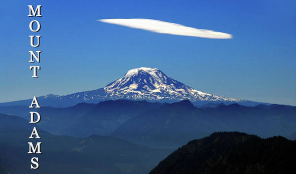 Wall Art - Photograph - Mount Adams And Cloud Cap by David Lee Thompson