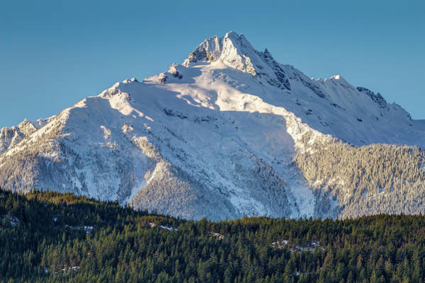 Photograph - Mount Alpha Of The Tantalus Range by Pierre Leclerc Photography