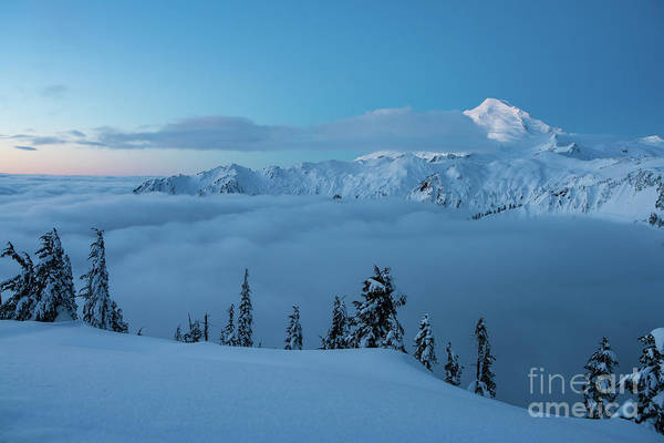 Wall Art - Photograph - Mount Baker Artists Point Snowscape by Mike Reid