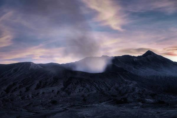 Rauch Wall Art - Photograph - Mount Bromo After The Sun - Java by Joana Kruse