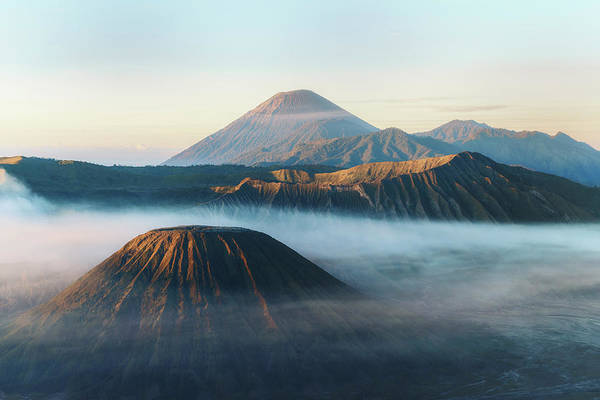 Rauch Wall Art - Photograph - Mount Bromo In The Morning - Java by Joana Kruse