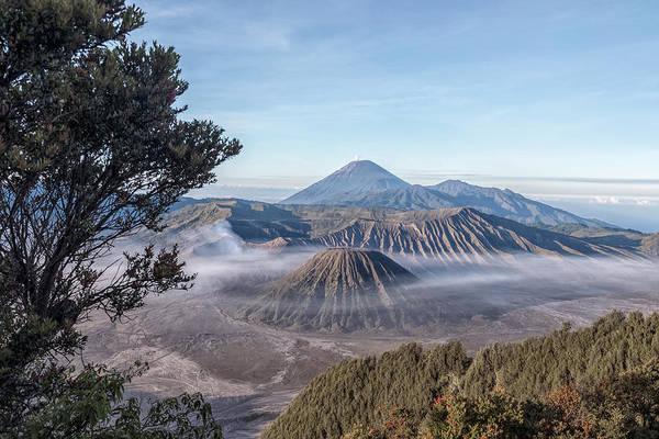 Rauch Wall Art - Photograph - Mount Bromo National Park - Java by Joana Kruse