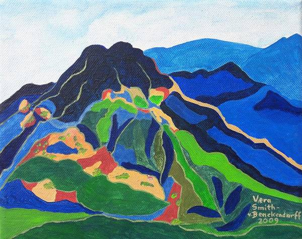 Painting - Mount Canigou by Vera Smith