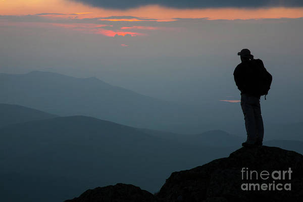 Mount Clay Sunset - White Mountains, New Hampshire Art Print