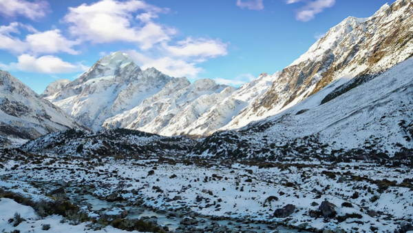 Photograph - Mount Cook Range by Anthony Dezenzio