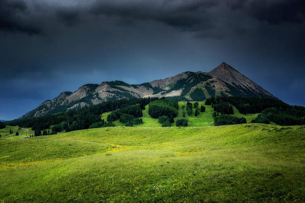 Photograph - Mount Crested Butte by John De Bord
