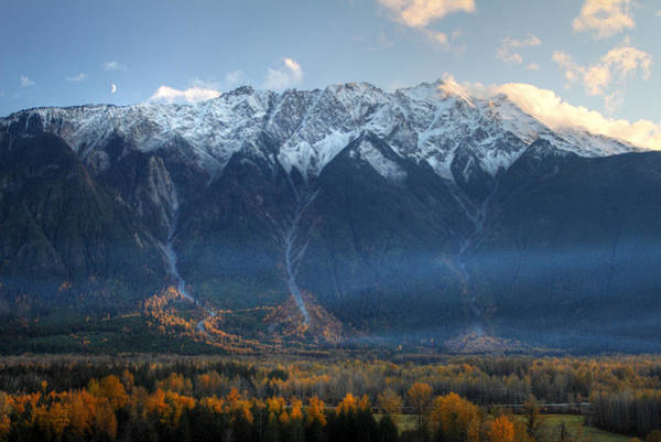 Photograph - Mount Currie Hdr Pemberton B.c Canada by Pierre Leclerc Photography