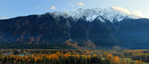 Photograph - Mount Currie Pemberton In Autumn by Pierre Leclerc Photography