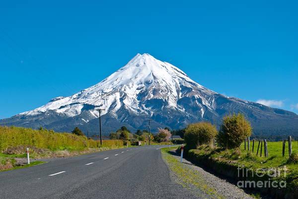 Wall Art - Photograph - Mount Egmont Taranaki New Zealand by Yurix Sardinelly