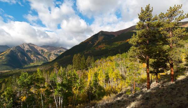 Fourteener Photograph - Mount Elbert Autumn Landscape by Cascade Colors