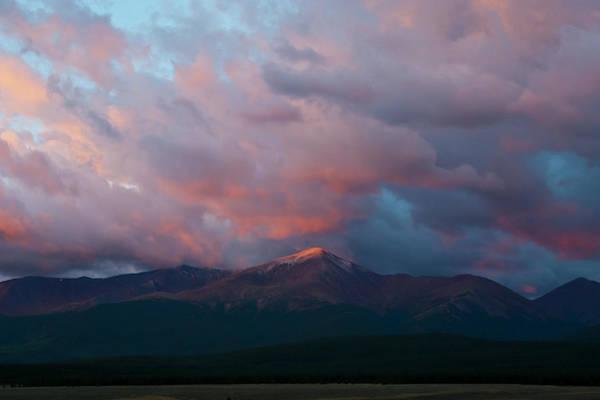Photograph - Mount Elbert Sunrise  by Cascade Colors