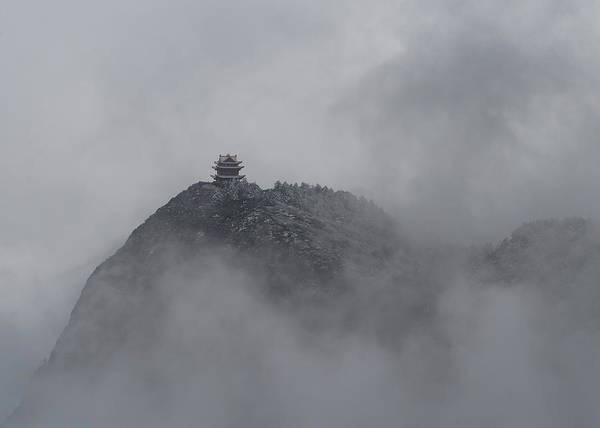 Photograph - Mount Emei Peak I by William Dickman