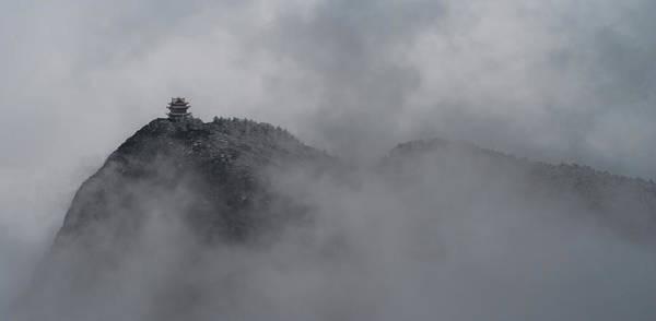Photograph - Mount Emei Peak II by William Dickman
