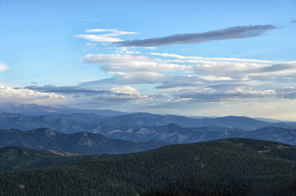 Photograph - Mount Evans 1 by Angelina Tamez