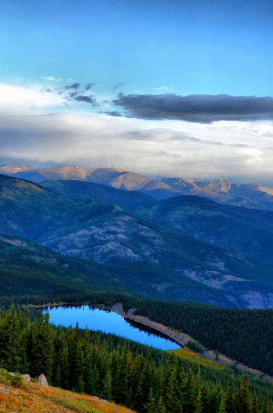 Photograph - Mount Evans Painterly 2  by Angelina Tamez