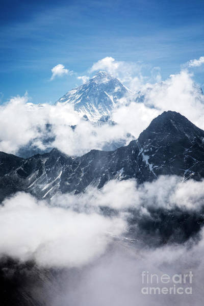Photograph - Mount Everest Above The Clouds by Scott Kemper