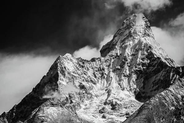 Wall Art - Photograph - Mount Everest Base Camp by Martin Jernberg
