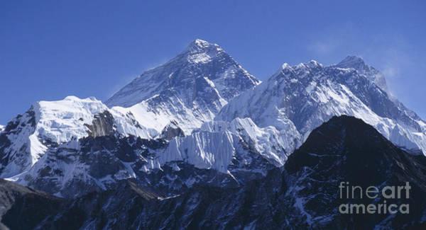 Wall Art - Photograph - Mount Everest Nepal by Rudi Prott