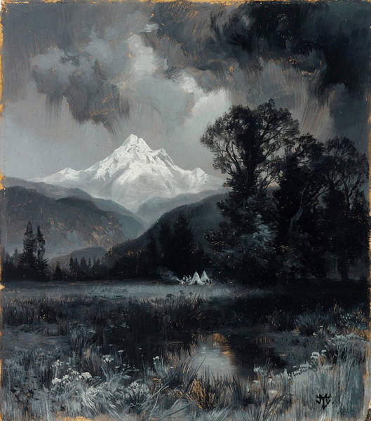 Wall Art - Painting - Mount Grohman by Thomas Moran