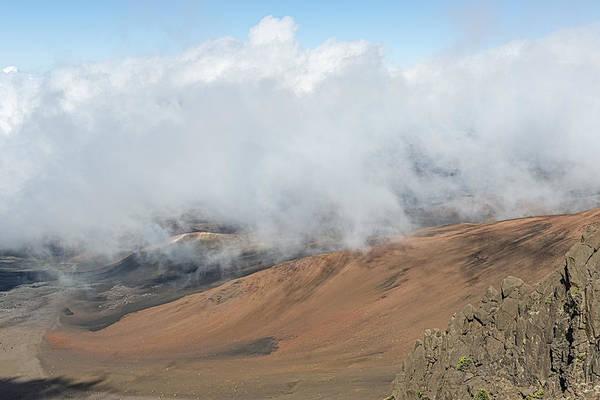 Photograph - Mount Haleakala Crater by Jim Thompson